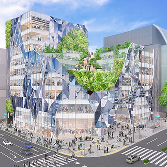Jingumae 6-chome Exit District Redevelopment