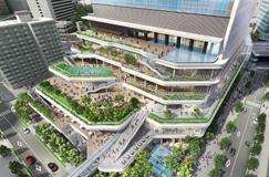 (仮称)竹芝地区開発計画本格始動 2020年の竣工に向けA街区(業務棟)が着工