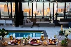 「東急プラザ銀座」ブラジル料理を楽しむビアガーデン 7月1日(金)より屋上KIRIKO TERRACE -WATER SIDE- にてオープン