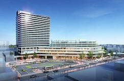大船駅北第二地区第一種市街地再開発事業                   権利変換計画認可                  大船駅直結1分 商業施設と一体の大規模マンション