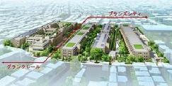 分譲マンションとシニア住宅の複合開発「世田谷中町プロジェクト」 複合開発の特性を活かし、同一敷地内での住み替え支援 定期転借地権付き分譲マンションを買取り、ケアレジデンスへの住み替えを可能に