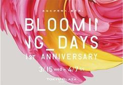 東急プラザ銀座 開業1周年キャンペーンを実施 「BLOOMING DAYS 1st ANNIVERSARY」 2017年3月15日(水)~4月7日(金)