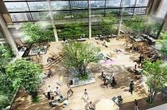 公園の快適さに包まれた新しいオフィスビル(仮称)内幸町二丁目プロジェクト ビル名称「日比谷パークフロント」に決定