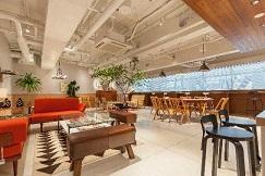 築48年のビルをリノベーション スタートアップ向けクリエイティブオフィス「ASIA BUILDING」 指紋認証システム「LIQUID Pay」「LIQUID Key」を導入 セキュリティエリアへの入室からカフェの決済まで手ぶらで対応
