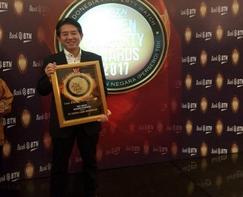 インドネシアのマンション開発、事業内容などを評価 「ゴールデンプロパティーアワード」を受賞