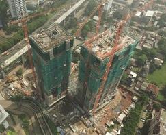 インドネシア初、オールジャパンの分譲マンション 「BRANZ SIMATUPANG」が上棟
