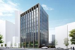 アッパーミドルオフィス「(仮称)三崎町三丁目計画』着工 ~大規模ビルと同等の設備・グレード感を実現する中規模オフィスビル~