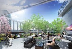 多様なワークスタイルをサポートするオフィス (仮称)南平台プロジェクトのIoT オフィス 渋谷発のビジネスや企業の事業をサポートする施設を開設 会員制サテライトオフィス「ビジネスエアポート」・インフィールドのコンファレンス