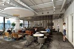 ~多様な働き方に対応する新サービスとしてラウンジ等24時間利用可能に~会員制シェアオフィス7店舗目、最大規模となる「Business-Airport Shimbashi(ビジネスエアポート新橋)」新橋駅前に8月27日(月)開業