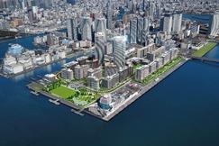 ~晴海五丁目西地区第一種市街地再開発事業~「HARUMI FLAG」に名称決定 東京のどまんなかに24棟・5,632戸の街づくりを実現