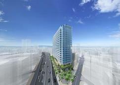 (仮称)南平台プロジェクト ビル名称を「渋谷ソラスタ(SHIBUYA SOLASTA)」に決定 渋谷発のビジネスや企業をサポートする施設として会員制シェアオフィス「ビジネスエアポート渋谷南平台」が5月15日開業予定