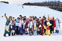 コスプレイヤーがゲレンデを滑走「コスプレ祭りinマウントジーンズ那須」~2019年1月19日(土)実施~