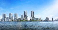 東京のどまんなかに24棟(※1)・5,632戸の約12,000人が暮らす街づくりを実現 2019年首都圏最多供給940戸(※2)  「HARUMI FLAG」  1月11日(土)より新街区「SUN VILLAGE」登場