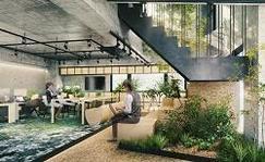 オフィスの賃貸借契約においてストック・オプションの活用により費用負担の軽減が可能に 広域渋谷圏でのスタートアップ向け共創施設7拠点目となる「GUILD Koendori(ギルド公園通り)」(2020年7月開設)に導入
